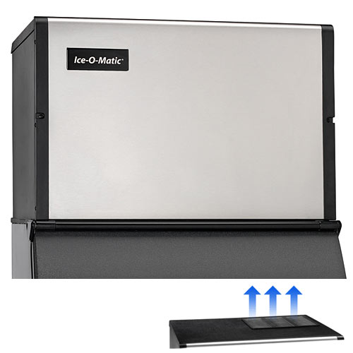 Ice-O-Matic Modular Top Air Full Cube Ice Machine - 625 lbs ICE0500FT