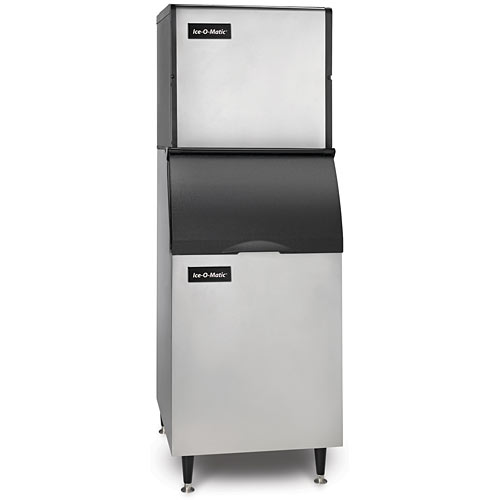 Ice-O-Matic Modular Air Cooled Full Cube Ice Maker w/ Bin - 320 lbs ICE0320FA/B42PS