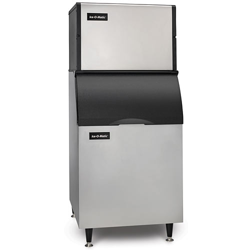 Ice-O-Matic Modular Air Cooled Full Cube Ice Maker w/ Bin - 625 lbs ICE0500FA/B55PS