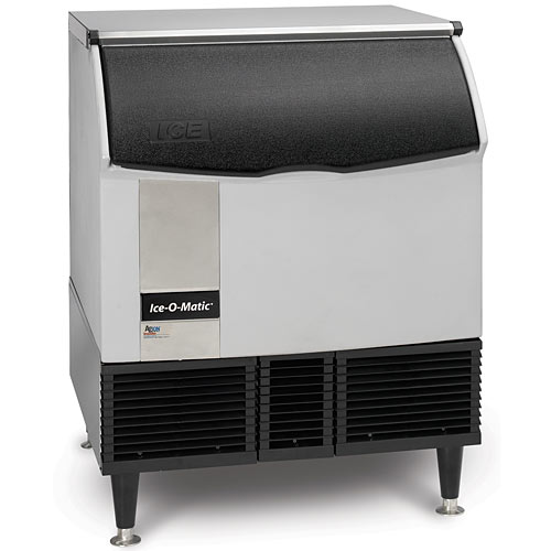 Ice-O-Matic Undercounter Water Cooled Half Cube Ice Machine - 356 lbs ICEU300HW