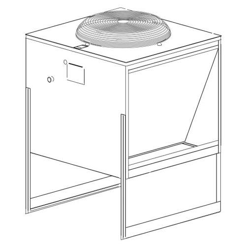 Ice-O-Matic Remote Condenser Unit for Cuber ICE Maker VRC1001
