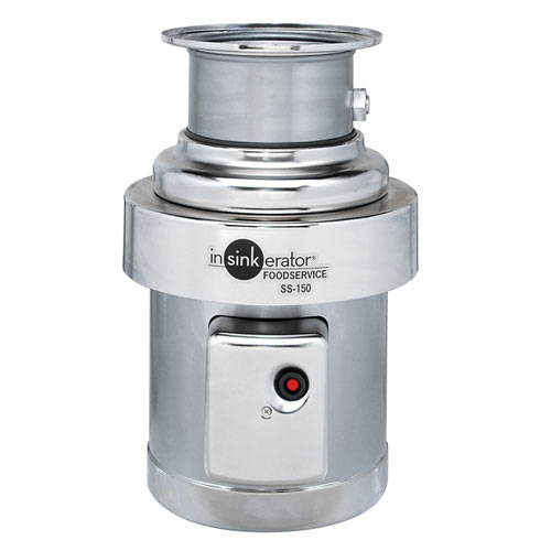 InSinkErator Heavy Duty Commerical Food Disposer - 1 1/2 hp SS-150