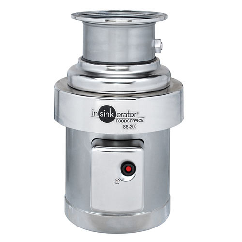 InSinkErator Heavy Duty Commerical Food Disposer - 2 hp SS-200