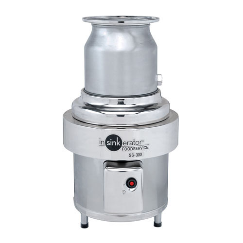 InSinkErator Heavy Duty Commerical Food Disposer - 3 hp SS-300