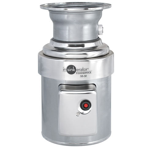 InSinkErator Heavy Duty Commerical Food Disposer - 1/2 hp SS-50