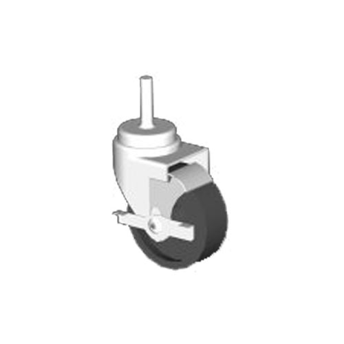 "John Boos 5"" Heavy Duty Locking Casters- Set of 4 CAS01-R-X"