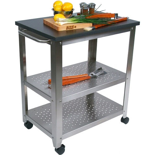 John Boos Cucina Culinarté Outdoor Kitchen Cart  w/ Phenolic Top CU-CULART30-OD