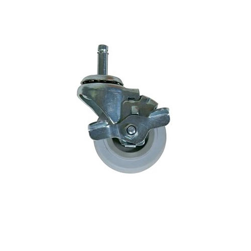 "John Boos Set of 4 - 3"" Gray Locking Casters CUCCAS-DLGS"