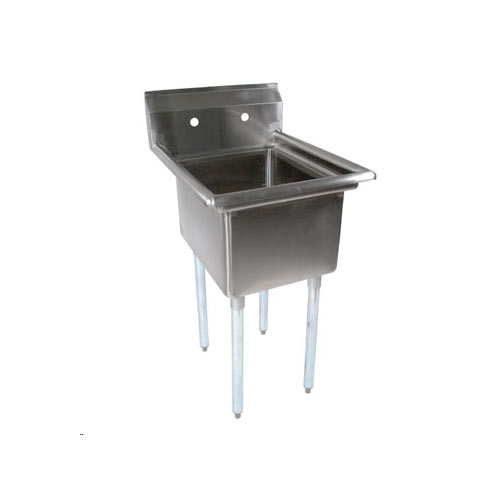 John Boos Stainless Steel One Compartment Sink E1S8-1620-12-X