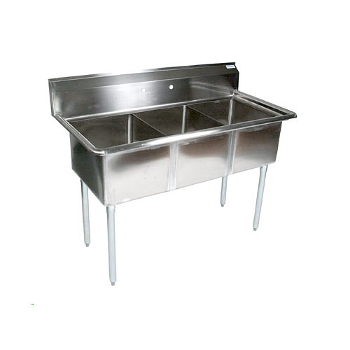... Boos E3S8-1620-12-X Stainless Steel Three Compartment Sink at Kirby