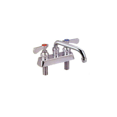 John Boos Heavy Duty Bar Sink Faucet PBF-4DM-12-X