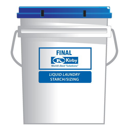 Kirby Final Liquid Laundry Starch/Sizing K-F5G