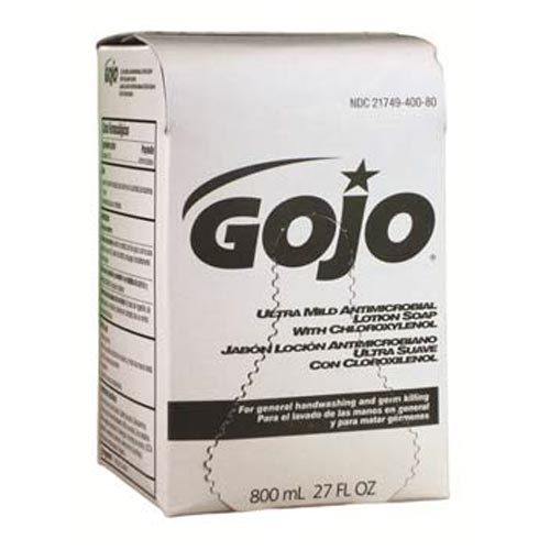 Kirby GOJO Antimicrobial Lotion Soap K-GOJO121B