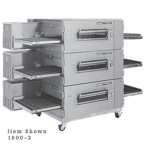 Lincoln Impinger Low Profile Electric Conveyor Oven Package- Double Stack 1600-2E