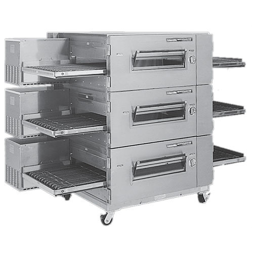 Lincoln Impinger Low Profile Electric Conveyor Oven Package- Triple Stack 1600-3E
