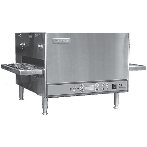 Lincoln Digital Countertop Countertop Impinger Electric Conveyor Oven - 208V 2501/1353