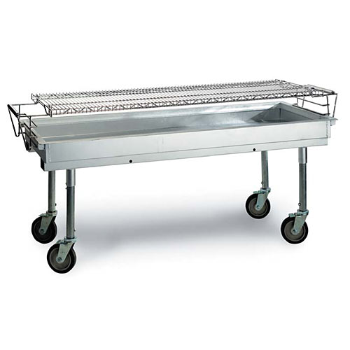 "MagiKitch'n Transportable Charcoal Grill - 60"" CGL-60"