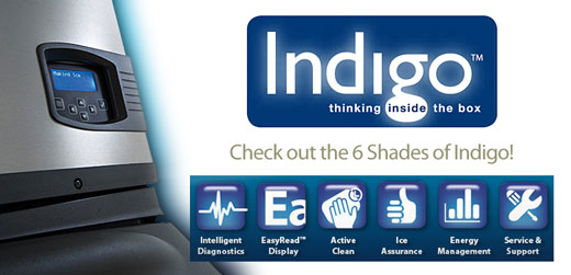 Indigo Ice Machines- Check out the 6 Shades of Indigo