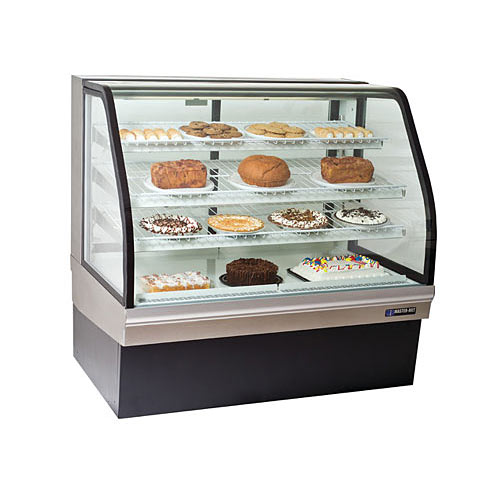 "Master-Bilt Curved Glass Bakery Merchandisers - 50"" CGB-50"