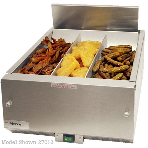 Merco Countertop Fried Food Holding Station - 16&quot; 27012