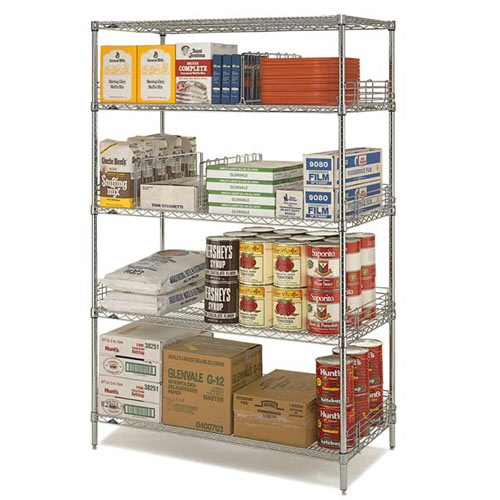 "Metro Super Erecta Convenience Pak 24"" X 36"" Chrome EZ2436NC-4"