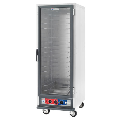 Metro Non-Insulated Heated Holding and Proofing Cabinet C519-CFC-4