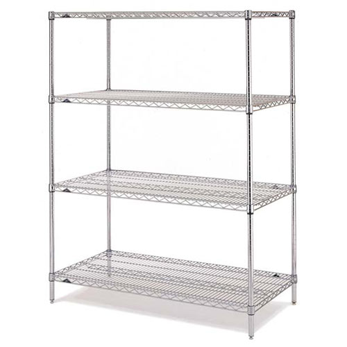 "Metro Super Erecta Convenience Pak 18"" X 48"" Super Brite EZ1848BR-4"