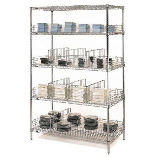 "Metro Super Erecta Convenience Pak 24"" X 60"" Chrome EZ2460NC-4"