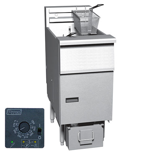 Pitco Solstice Electric Fryer & Solstice Filter System 40- 50 lbs SE14S-1FD