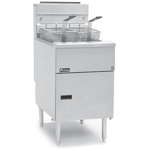 Pitco Solstice Standard Gas System Fryer - 70-90 lbs SG18-S