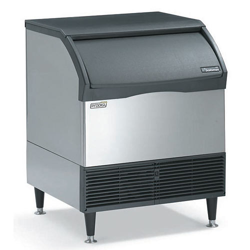 Scotsman Prodigy Air Cooled Small Cube Self-contained Ice Machine - 300 lbs CU3030SA-1