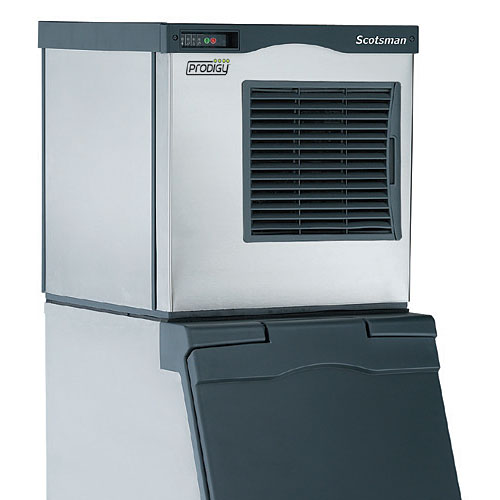 Scotsman Prodigy Air Cooled Flaker Ice Machine - 800 lb F0822A-1