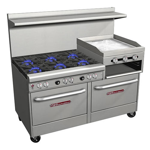 Southbend Ultimate Gas Mixed Top Restaurant Range 6 Burners 4601DD-2RR