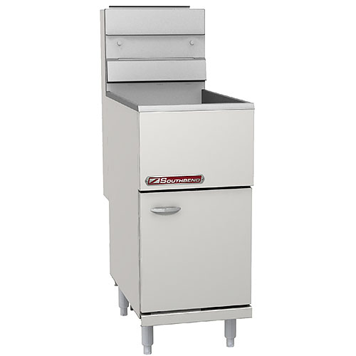 Southbend SB Economy Floor Model Gas Tube Fryer - 35-40 lb SB35S