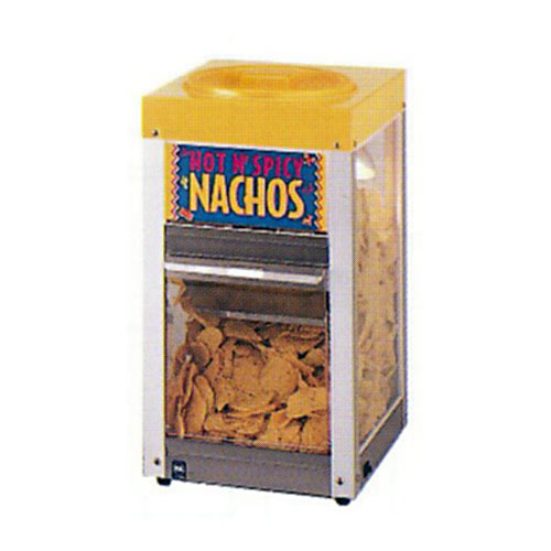 "Star Nacho Chip Merchandiser/Warmer - 12"" 12NCPW"