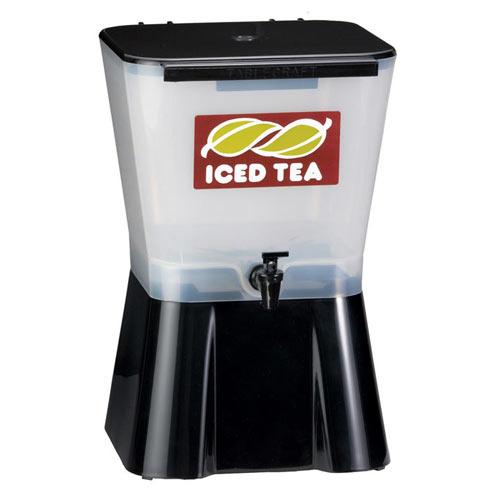 Tablecraft Plastic Beverage Dispenser, 3 gal Black 953