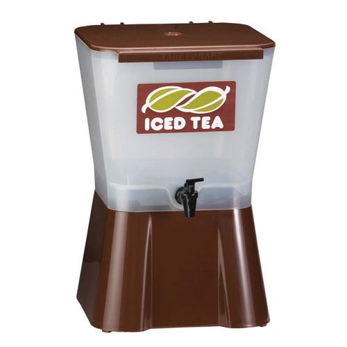 Tablecraft Plastic Beverage Dispenser, 3 gal Brown 954