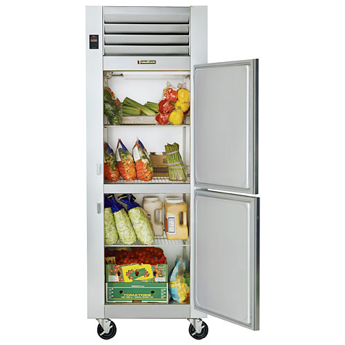 Traulsen G Series 1 Section Solid Half Door Reach-in Refrigerator - Hinged R G10000