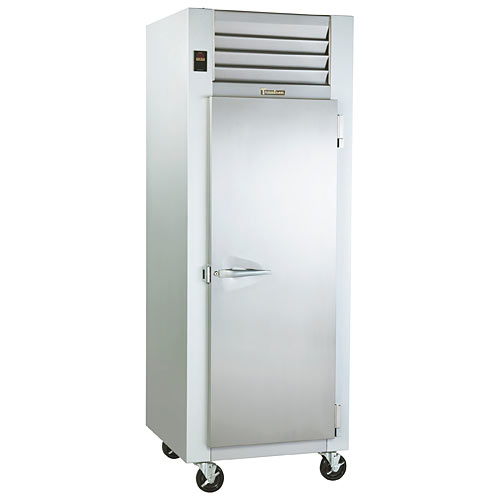 Traulsen G-Series 1 Section Solid Full Door Reach-in Refrigerator - Hinged R G10010