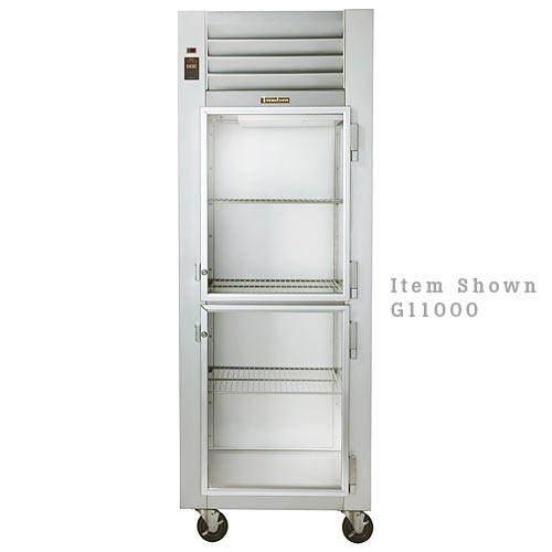 Traulsen G Series 1 Section Glass Half Door Reach-in Refrigerator - Hinged L G11001