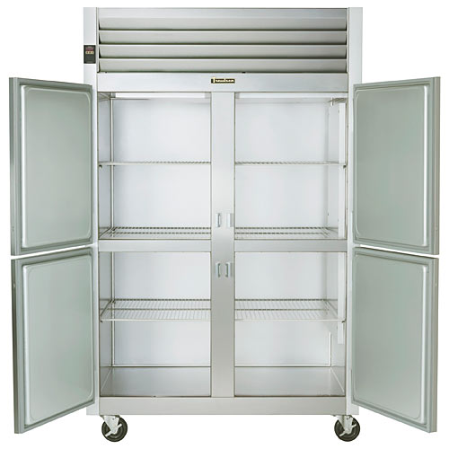 Traulsen G Series 2 Section Solid Half Door Reach-in Freezer - Hinged L-R G22000