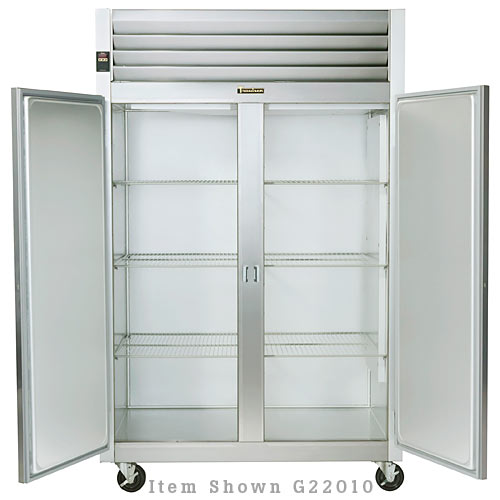 Traulsen G Series 2 Section Solid Full Door Reach-in Freezer - Hinged R-R G22012