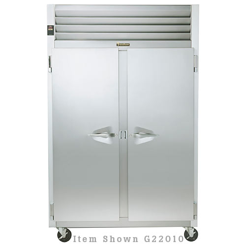 Traulsen G Series 2 Section Solid Full Door Reach-in Freezer - Hinged L-L G22013