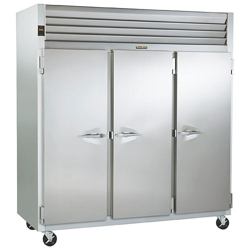 Traulsen G Series 3 Section Solid Full Door Reach-in Freezer - Hinged L-R-R G31310