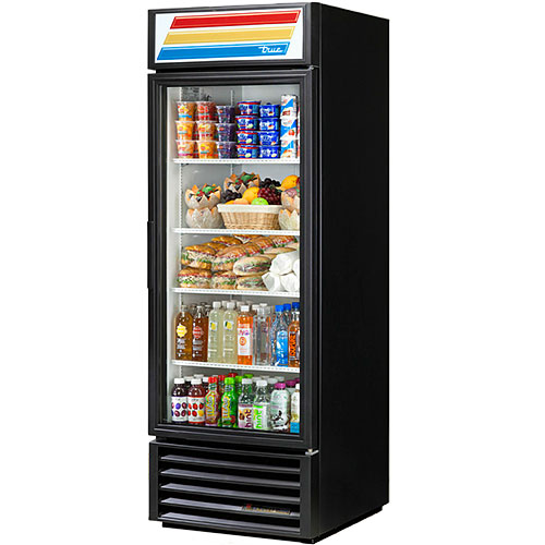 "True Swing Door Merchandiser Refrigerator - 27"" GDM-23-HC-LD"