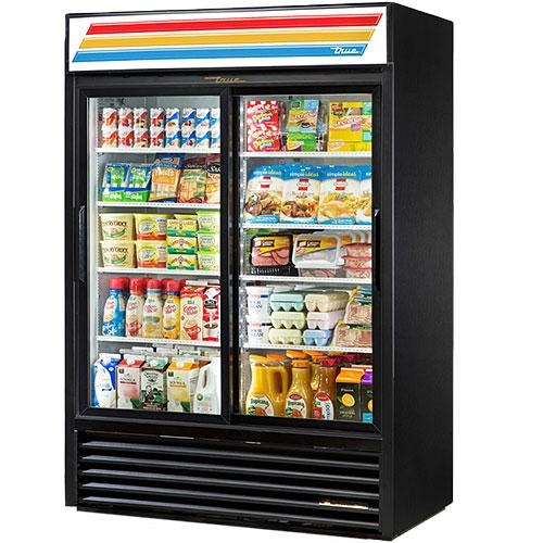 """True Slide Door Merchandiser Refrigerator - 54"""" GDM-47-LD"""