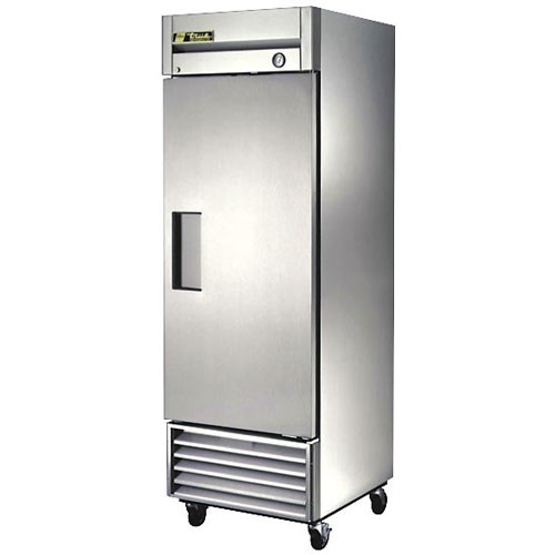 True Solid Door Reach-In Refrigerator, T Series T-23-HC