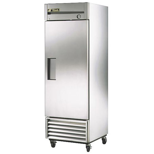 True Solid Door Reach-In Freezer,  T-Series T-23F-HC