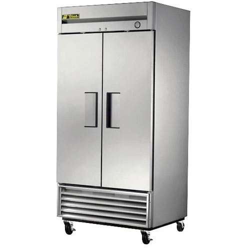True Solid 2 Door Reach-In Refrigerator, T Series T-35