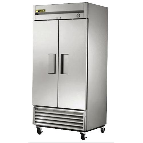 True Solid 2 Door Reach-In Freezer,  T-Series T-35F